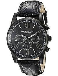 Akribos XXIV Reloj de cuarzo Man AK864BK 41 mm