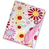 Carter Baby Fleece Double Layer Blanket (76 X 100 Cm) (Pink Sun Flower)
