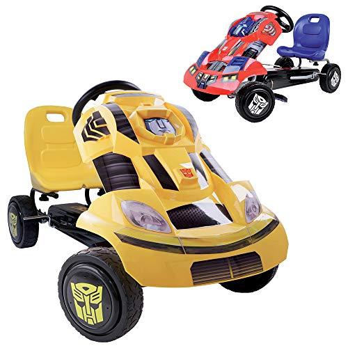 Hauck T90406 Transformers Go-Kart Bumblebee, gelb, schwarz -