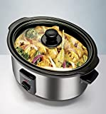from Morphy Richards Morphy Richards 48710 Oval Slow Cooker 3.5 L - Polished Stainless Steel Model 48710