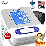 #9: Dr Trust Comfort Sky Edition Digital Blood Pressure Monitor (Gray)
