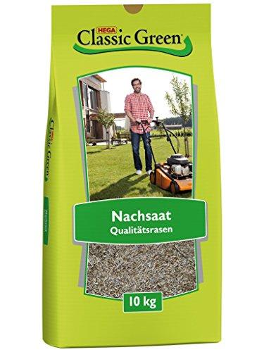 Classic Green Rasensaat Nachsaat – Reparatur| Grassamen | Rasensamen 10kg | Premium Rasensaat | Rasensaat Nachsaat | Rasensaatgut | Rasensaat Reparatur| Regeneration | Reparatur