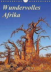 Wundervolles Afrika (Wandkalender 2018 DIN A4 hoch): Über die Vielfalt eines Landes (Monatskalender, 14 Seiten ) (CALVENDO Orte) [Kalender] [Apr 01, 2017] Woyke, Wibke