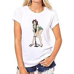 Pin Up Girl Colourful Pump XXL Damen T-Shirt