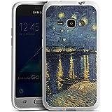 Samsung Galaxy J1 (2016) Silikon Hülle Case Schutzhülle Vincent Van Gogh Kunst Art
