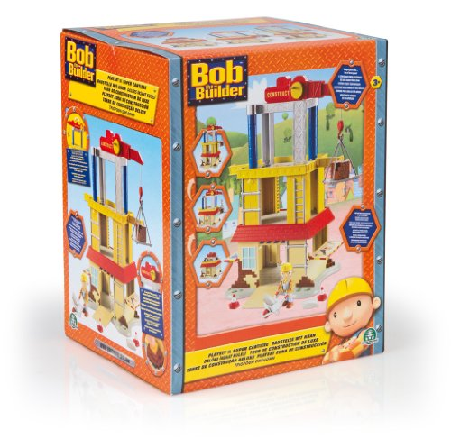Giochi Preziosi GP470631 Bob the Builder, Playset Super Cantiere