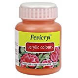 #7: Fevicryl Acrylic Colour (500 ml): Vermillion