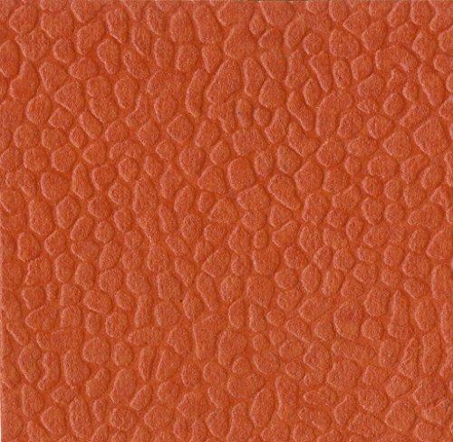 Clairefontaine handgefertigt geprägt Papiere, 50x 70cm, 10Blatt, Papier, Mandarine Orange, 70.0 x 50.0 x 0.4 cm