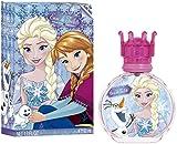 AIR-VAL Disney Frozen Eau de Toilette 50 ml in Glasflakon mit Verschluss in Krönchenform, 1er Pack...