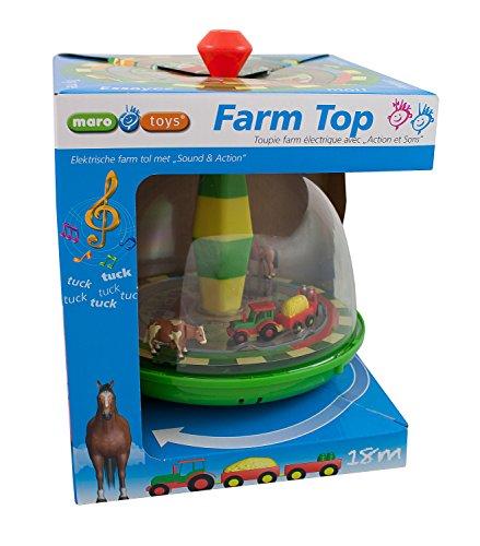 Maro Toys 68020 - Farm Top, Bauernhof und Tiere