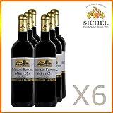 Château Piochet 2015 - Bordeaux Rouge - Vin Rouge - 6 x 75cL