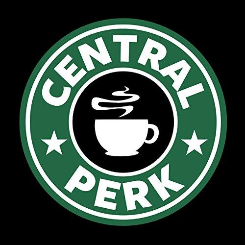 Friends Central Perk Starbucks Logo Women's Sweatshirt Black