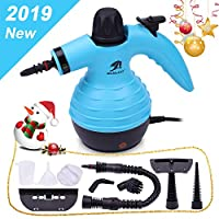 MLMLANT New Handheld Pressurized Steam Cleaner Multi-Purpose and Multi-Surface All Natural, Chemical-Free Steam Cleaning for Home, Auto, Patio, More (350ML)