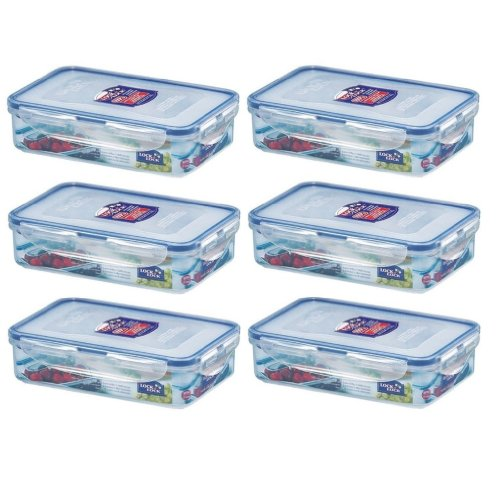 6-x-lock-lock-800ml-food-container-rectangle-container-lunch-box-hpl816