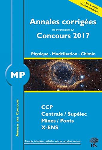 MP Physique, Modélisation, Chimie