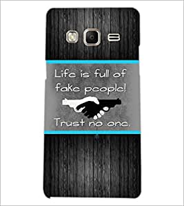 PrintDhaba Quote D-2564 Back Case Cover for SAMSUNG Z3 (Multi-Coloured)