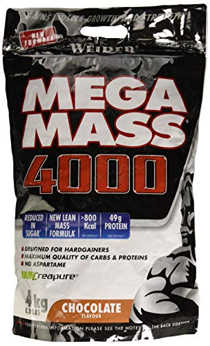 Weider Mega Mass Chocolate Bag - 4000 gr