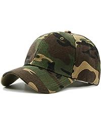 UxradG - Gorra de camuflaje militar para caza, pesca o actividades al aire libre, verde
