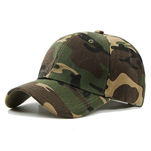 UxradG - Gorra de camuflaje militar para caza