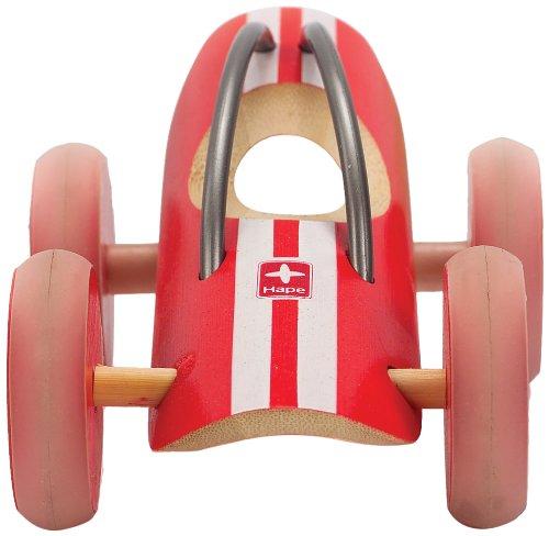 Hape - E5515 - Bambou - Véhicules Miniatures - Voiture E-Racer Monza