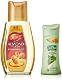 #4: Dabur Almond Hair Oil, 200ml with Free Vatika Shampoo, 50ml