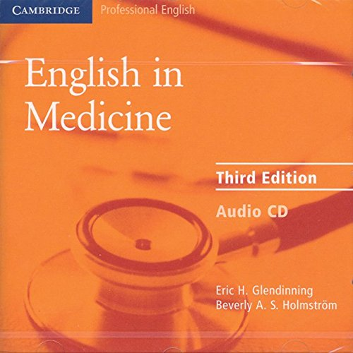 English in Medicine Audio CD: A Course in Communication Skills (Face2face S.)