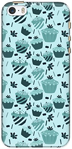 The Racoon Grip printed designer hard back mobile phone case cover for Apple Iphone 5/5s. (cupcake lo)