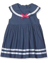 Blue Seven Baby - Mädchen Kleid Mini Md Kleid, Matrosenkragen