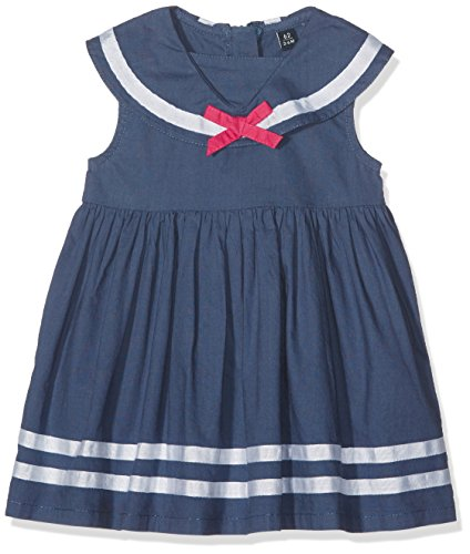 Blue Seven Baby-Mädchen Kleid Mini Md, Matrosenkragen, Blau (Jeansblau Orig 546), 80