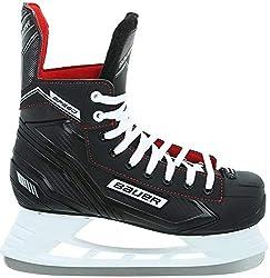 Bauer Speed Skate SR EH-Skate schwarz-Weiss-rot-Silber - 6/40.5