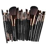 Professionelles Kabuki Makeup Pinselsatz Premium 22 Stück Set Geeignet Für Ihre Kosmetischen Bedürfnisse (Gesicht Und Auge) Foundation Cream (Creme/Pulver Und Mineralien) Blush Concealer Etc ,Brown
