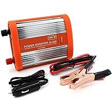 suntapower 500W inversor de corriente de coche DC 12V a 220V AC convertidor con fuente de alimentación Dos maneras de convertir adaptador AC outlet Dual USB Puertos de Carga de Coche Vehículo de arranque suave coche aleación de aluminio Shell