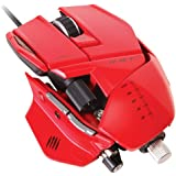 Mad Catz R.A.T. 7 - Ratón gaming, color rojo