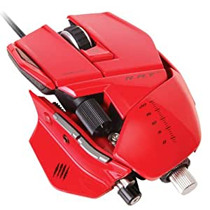 Mad Catz R.A.T.7 Mouse - Red (PC DVD)