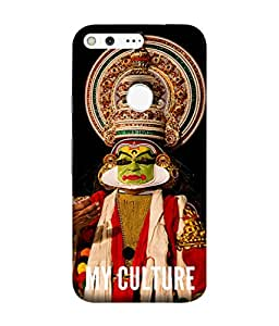 PrintVisa Designer Back Case Cover for Google Pixel (Dancing Dance lover Cultural art form india)