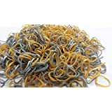 Deal 600 Mixed Mettalic Gold & Silver Loom Bands With 20-Clips 1 tool