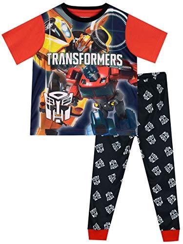 Transformers Jungen Bumblebee Optimus Prime Schlafanzug Mehrfarbig 116 (Transformers Schlafanzug Jungen)