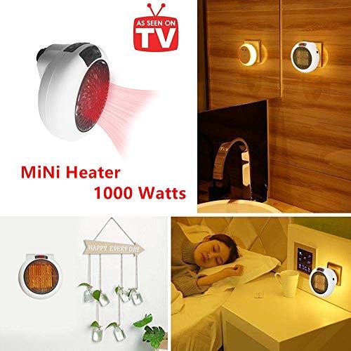 Calefactor Portátil Handy Heater 1000W Bajo Consumo