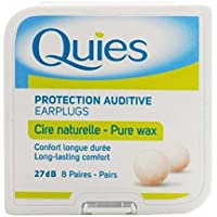 5x Quies Wax Ear Plugs 8Paar Fünf Packungen–Super Deal preisvergleich bei billige-tabletten.eu