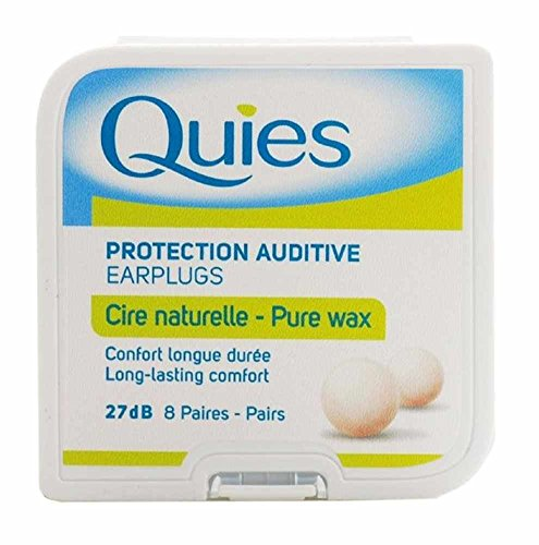 5x Quies Wax Ear Plugs 8Paar Fünf Packungen-Super Deal (Quies Ear Plugs)