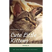 Cute Little Kittens Photo Book Vol.3: 100+ lovely moments of cute little kittens  (English Edition)