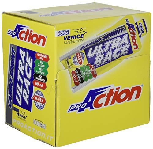Proaction carbo sprint ultra race (limone, confezione da 32 stick da 60 ml)