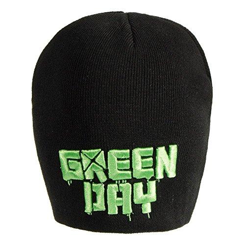 Berretto Con Logo Green Day (Nero)