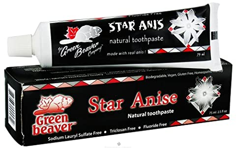 Green Beaver Toothpaste, Star Anise, 2.5 Ounce