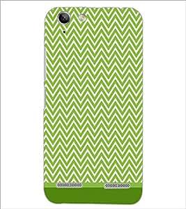 PrintDhaba Zig Zag Pattern D-1694 Back Case Cover for LENOVO VIBE K5 (Multi-Coloured)