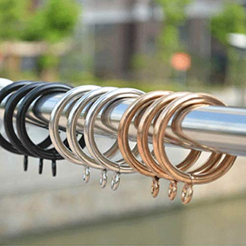 Aoforz-uk Vorhang Ring Metall hängen Ring Vorhang Clips Werkzeuge Vorhang Haken zubehör 10 Teile/los wohnkultur Vorhang dekorative