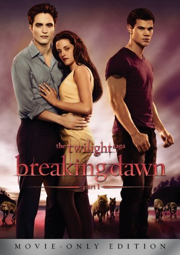 Twilight Saga, The: Breaking Dawn Part 1 [DVD] by Kristen Stewart (Twilight Filme Dvd)