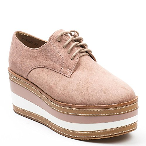 Ideal Shoes ,  Scarpe stringate donna Rose