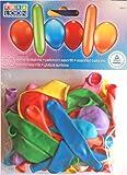 Karaloon 20019 - 50 Ballons runde und lange, sortiert