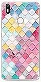Prevoa Colorful Silicona TPU Funda Case para BQ Aquaris X/X Pro Smartphone - (46)